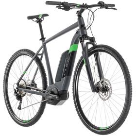 Cube Cross Hybrid Pro 500 E-crossbike grå